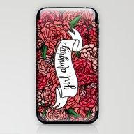 Girl Almighty iPhone & iPod Skin