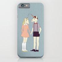 Our love is unique, we are Unicorns iPhone 6 Slim Case