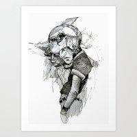 Dream Cycle Art Print