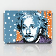 Blue Einstein iPad Case