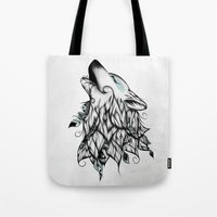 The Wolf  Tote Bag