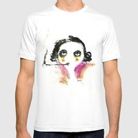 Mme Zuzu Mens Fitted Tee White SMALL