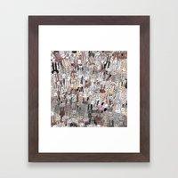 BUNS BUNS BUNS Framed Art Print
