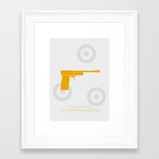 Scaramanga Framed Art Print