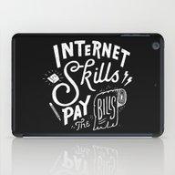 Pay The Bills iPad Case