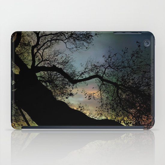 Night Fall by The Tree iPad Case