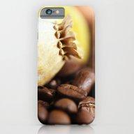 Coffee Poppy iPhone 6 Slim Case