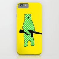 dot bear iPhone 6 Slim Case