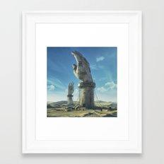 RESTRAINED (everyday 02.… Framed Art Print