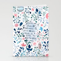 i'll meet you there Stationery Cards