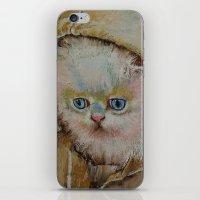 Eskimo Kitten iPhone & iPod Skin