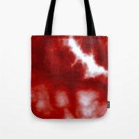 Cherry Cream Sky Tote Bag