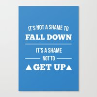 Get Up Canvas Print