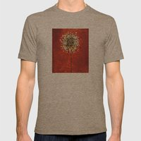 Flower Mens Fitted Tee Tri-Coffee SMALL