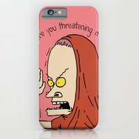Are You Threatening Me? iPhone 6 Slim Case
