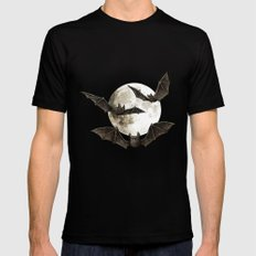 Creatures Of The Night Black Mens Fitted Tee SMALL