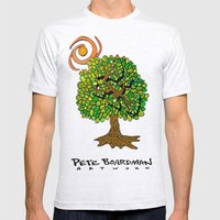 Tree of Life Mens Fitted Tee Ash Grey SMALL