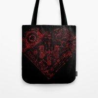 Robotic Heart Tote Bag