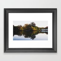Central Park Fall Series 5 Framed Art Print