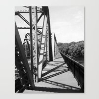 Delaware Bridge Canvas Print