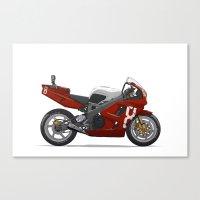 Honda Fireblade Canvas Print