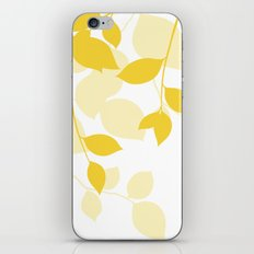 Spring Leaves iPhone & iPod Skin