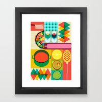 Wondercook Framed Art Print