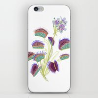 Venus Fly Trap iPhone & iPod Skin