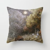 Throw Pillow featuring Supermoon by Ulla Thynell