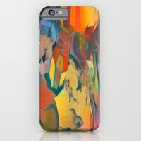 abstract Carnival ride iPhone 6 Slim Case