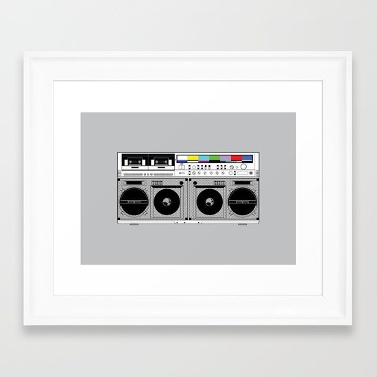 1 kHz #10 Framed Art Print
