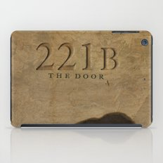 No. 6. 221B iPad Case
