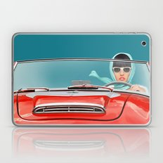 Woman In A Vintage Cabri… Laptop & iPad Skin