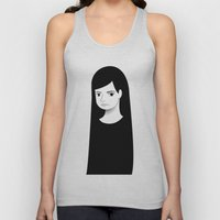 normal girl  Unisex Tank Top