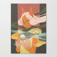 Light Bearer Canvas Print