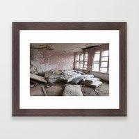 Sainte-Clotilde-de-Horton Framed Art Print