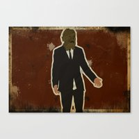 The Dark Knight: Scarecrow Canvas Print