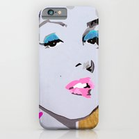 iPhone & iPod Case featuring Lips by Paola Gonzalez