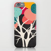 iPhone Cases featuring Lovely Tree by Danny Ivan