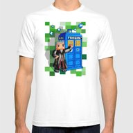 T-shirt featuring 8bit 12th Doctor With Bl… by Three Second