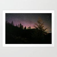 night stars Art Print