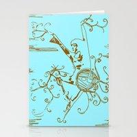 Tiny Dancer [Locust] Stationery Cards
