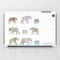 Elephants of the United States iPad Case