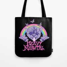 Heavy Meowtal Tote Bag