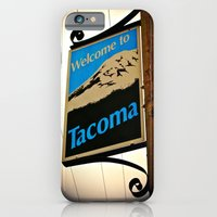 iPhone & iPod Case featuring Welcome to Tacoma by Vorona Photography
