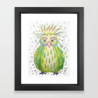Forest's Owl Framed Art Print
