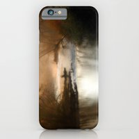 Foggy Alum Creek on a chilly fall morning iPhone 6 Slim Case