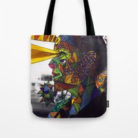 Psychoactive Bear 8 Tote Bag