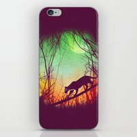 Through The Brush iPhone & iPod Skin