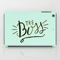 The Boss - Boss Lady - H… iPad Case